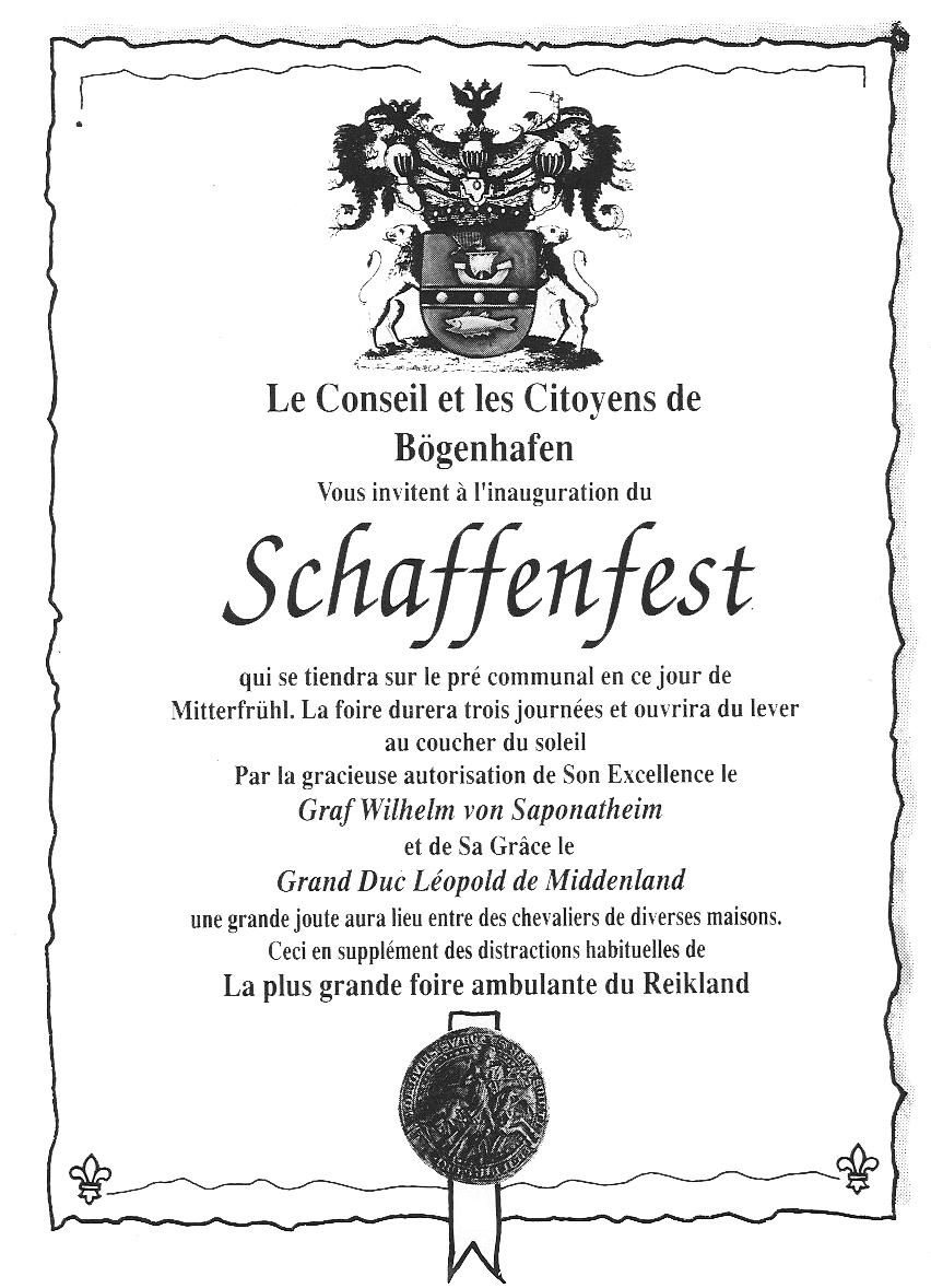 Schaffenfest